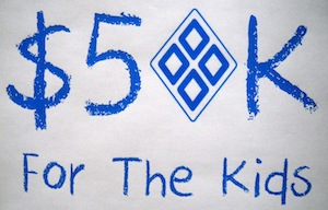 50K For the Kids Logo