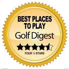 Voted Best Places to Play - Golf Digest